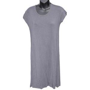 Dresses & Skirts - Super-Soft Gray T-Shirt Dress